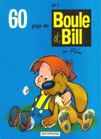 BOULE ET BILL -1- - 60 gags de Boule et Bill n°2  - Tome 2 (b) - Grand format