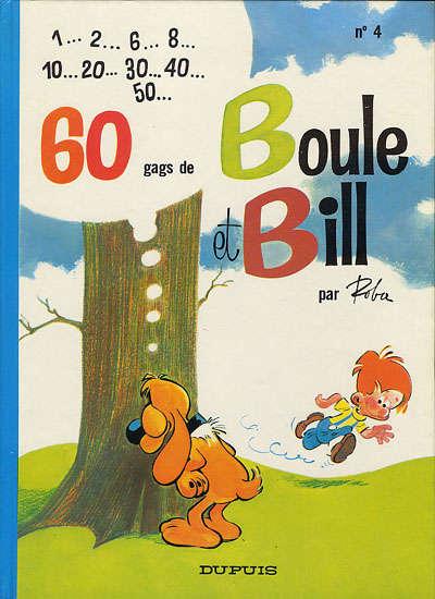 BOULE ET BILL -1- - 60 gags de Boule et Bill n°4  - Tome 4 (d) - Grand format