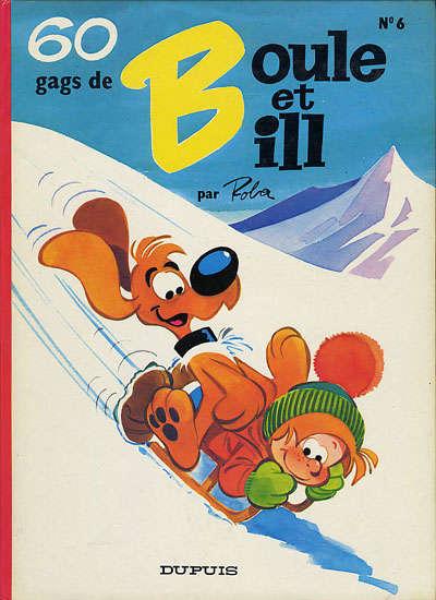 BOULE ET BILL -1- - 60 gags de Boule et Bill n°6  - Tome 6 (b) - Grand format