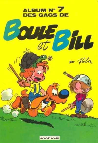 BOULE ET BILL -1- - Des gags de Boule et Bill  - Tome 7 (c) - Grand format
