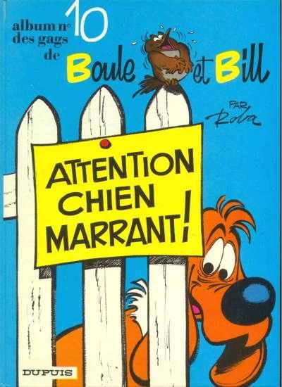 BOULE ET BILL -1- - Attention, chien marrant!  - Tome 10 - Grand format