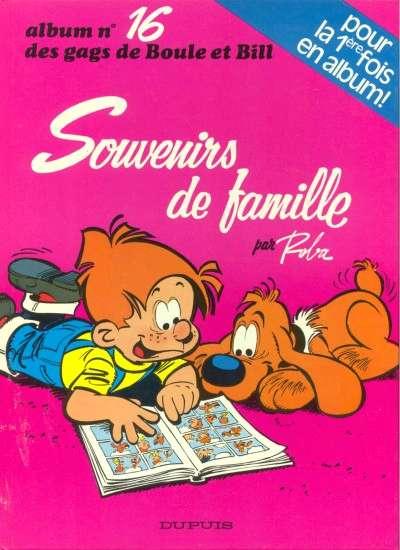 BOULE ET BILL -1- - Souvenirs de famille  - Tome 16 (a) - Grand format