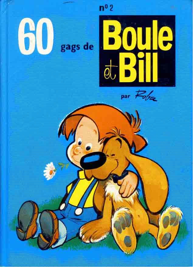 BOULE ET BILL -8- (FRANCE LOISIRS) - 60 gags de Boule et Bill n°2  - Tome 2 - Grand format