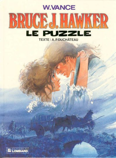 BRUCE J. HAWKER - Le puzzle  - Tome 4 - Grand format