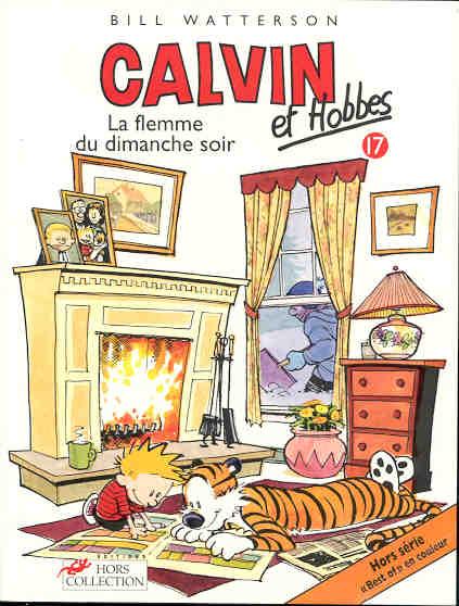 CALVIN ET HOBBES - La flemme du dimanche soir  - Tome 17 - Grand format