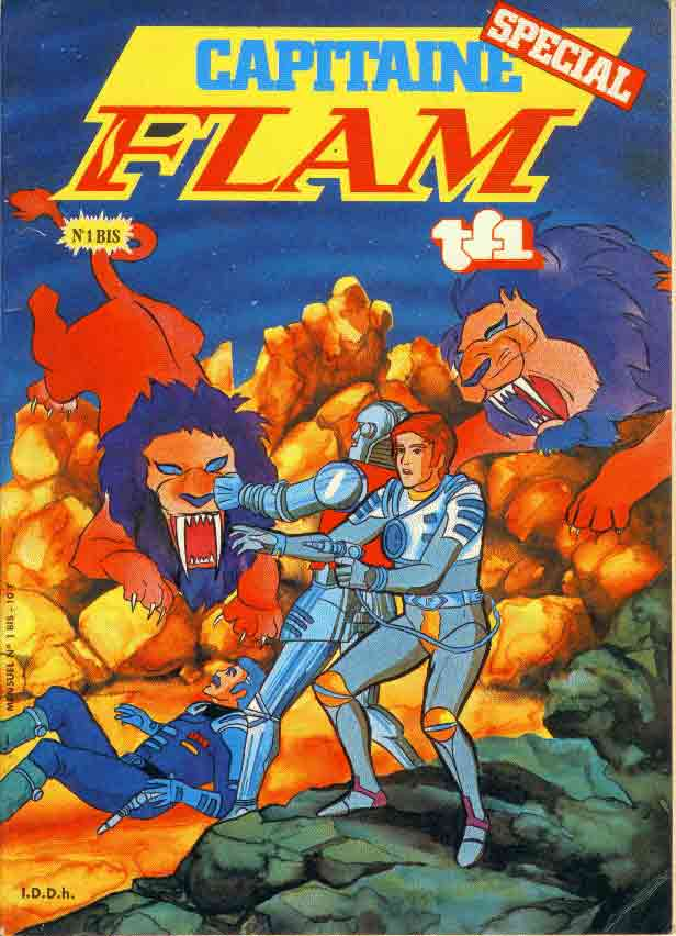 CAPITAINE FLAM - Capitaine Flam N°1bis  - Tome 1 (bis) - Grand format