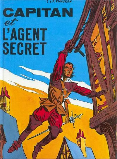 CAPITAN - Capitan et l'agent secret  - Tome 4 (a) - Grand format
