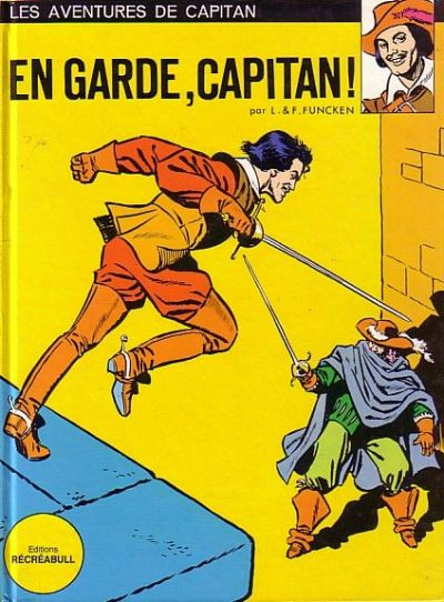 CAPITAN - En garde, Capitan!  - Tome 1 (a') - Grand format