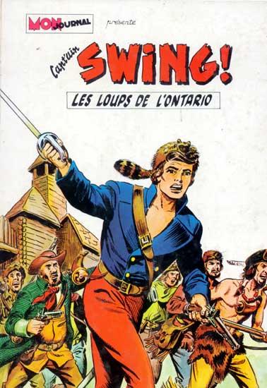 CAPT'AIN SWING - Les loups de l'ontario  - Tome 1 - Grand format