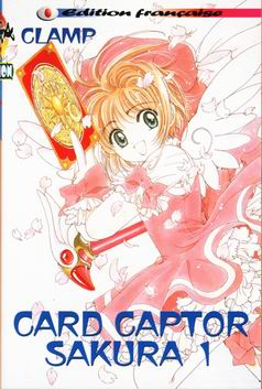 CARD CAPTOR SAKURA - Tome 1  - Tome 1 - Moyen format