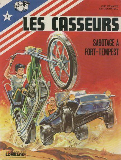 CASSEURS (LES) - Sabotage à Fort Tempest  - Tome 2 - Grand format