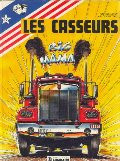 CASSEURS (LES) - Big Mama (Tome 1)  - Tome 10 - Grand format