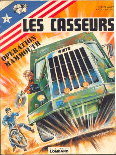 CASSEURS (LES) - Opération Mammouth  - Tome 3 - Grand format