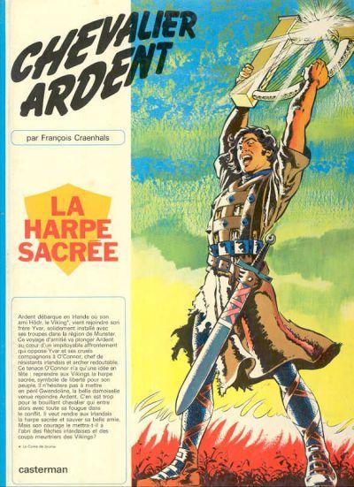 CHEVALIER ARDENT - La harpe sacrée  - Tome 5 (a) - Grand format