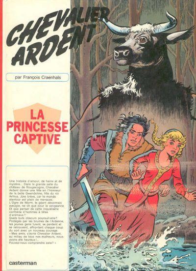 CHEVALIER ARDENT - La Princesse captive  - Tome 10 - Grand format