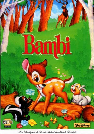CLASSIQUES DU DESSIN ANIMÉ (LES) - Bambi  - Tome 1 - Grand format