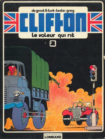 CLIFTON - Le voleur qui rit  - Tome 2 (') - Grand format