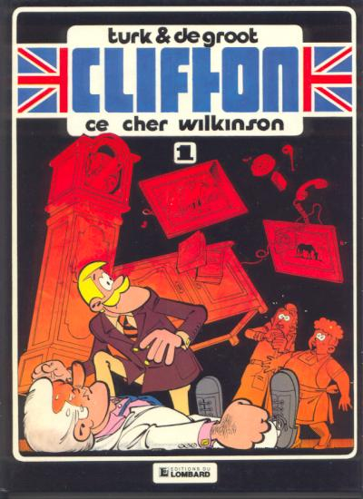 CLIFTON - Ce cher Wilkinson  - Tome 1 (') - Grand format