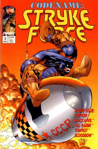Codename: Stryke Force  -  No 3  - Tome 3