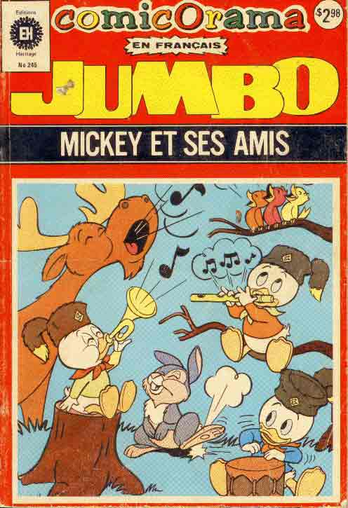 COMICORAMA - Mickey et ses amis  - Tome 245 - Grand format