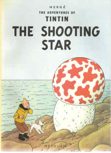 TINTIN (ANGLAIS) - The shooting star  - Tome 10 - Grand format