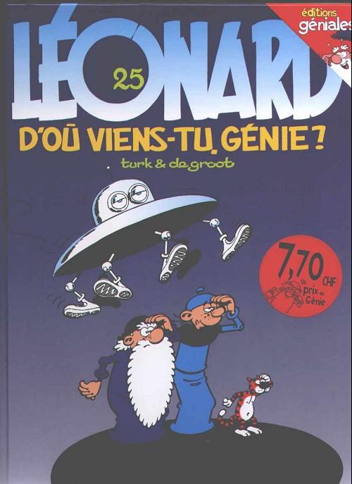 LÉONARD - D'où viens-tu génie ?  - Tome 25 (a) - Grand format