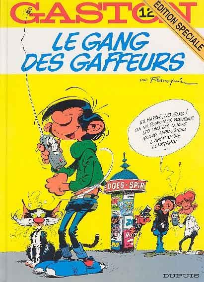 GASTON LAGAFFE - Le gang des gaffeurs  - Tome 12 (ES) - Grand format