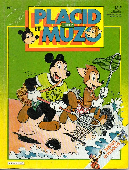 PLACID ET MUZO (SUPER) - Placid et Muzo  - Tome 1 - Grand format