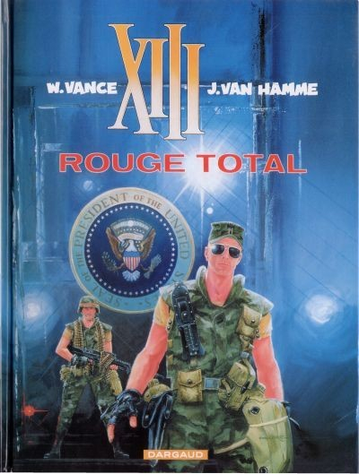 XIII  -  Rouge total  - Tome 5 (c)