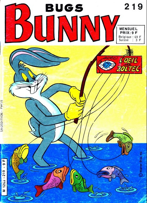 Bugs Bunny (Grand Format)  -  Bunny prisonnier des vikings  - Tome 219