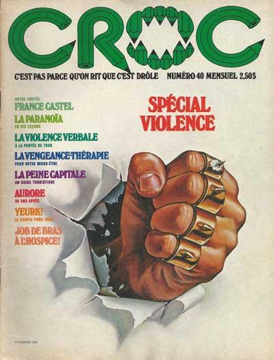 CROC - Spécial violence  - Tome 40 - Grand format