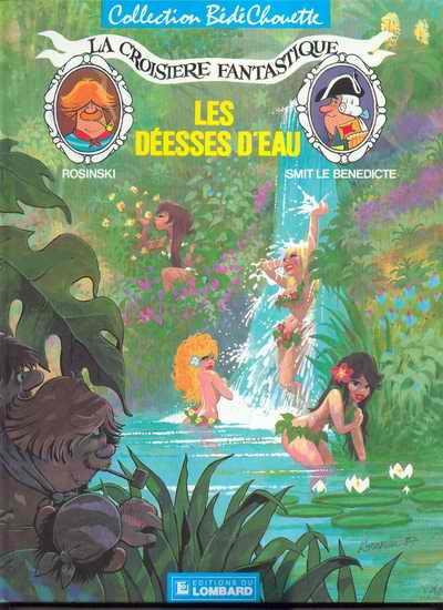 CROISIÈRE FANTASTIQUE (LA) - Les déesses d'eau  - Tome 2 - Grand format