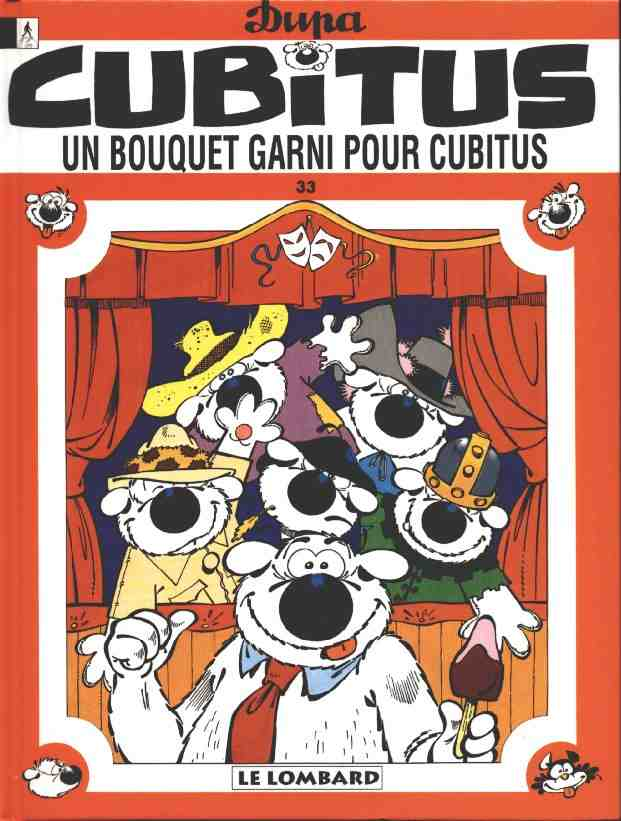 CUBITUS - Un bouquet garni pour Cubitus  - Tome 33 - Grand format