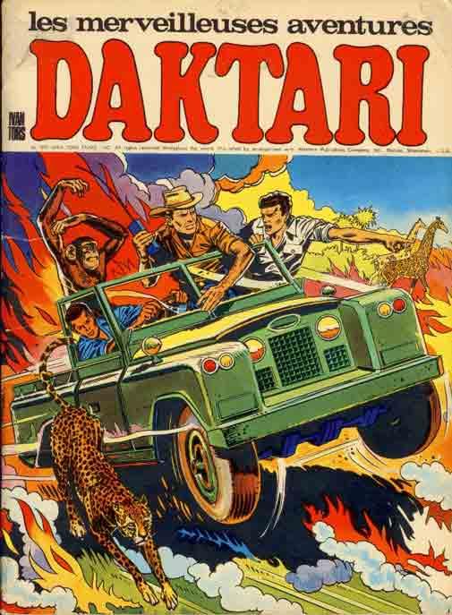 DAKTARI (LES MERVEILLEUSES AVENTURES DE) - Alerte à Bwangadi  - Tome 1 - Grand format