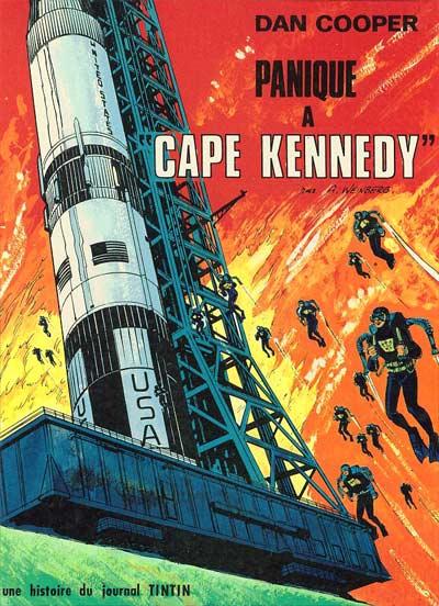 DAN COOPER (LES AVENTURES DE) - Panique à ''Cape Kennedy''  - Tome 14 (a) - Big format