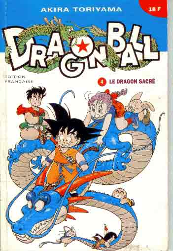 dragon ball (1ère série de 1993 à 1999) dragon sacré (le)  - tome 4