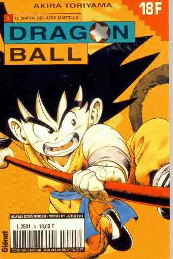 DRAGON BALL (1ÈRE SÉRIE DE 1993 À 1999) - Maître des arts martiaux (Le)  - Tome 5 (a) - Moyen format