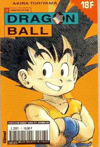 dragon ball (1ère série de 1993 à 1999) confrontation  - tome 7 (a)