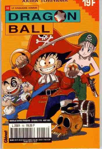 DRAGON BALL (1ÈRE SÉRIE DE 1993 À 1999) - Cinquième homme (Le)  - Tome 18 (a) - Moyen format