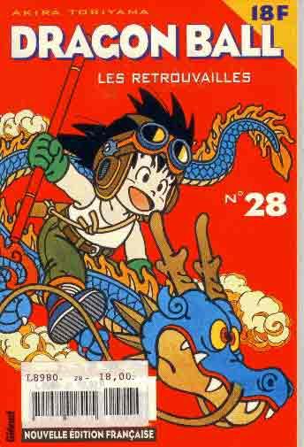 DRAGON BALL (1ÈRE SÉRIE DE 1993 À 1999) - Retrouvailles (Les)  - Tome 28 (a) - Moyen format