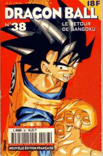 dragon ball (1ère série de 1993 à 1999) le retour de sangoku  - tome 38 (a)