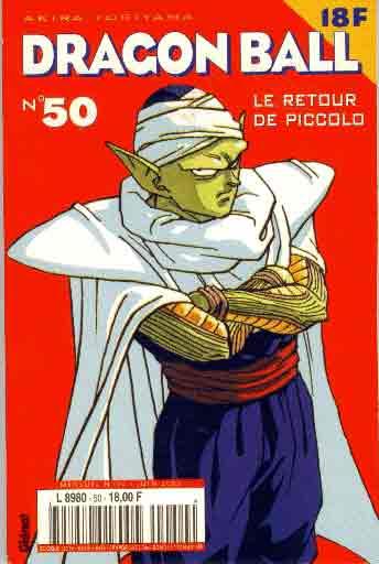 DRAGON BALL (1ÈRE SÉRIE DE 1993 À 1999) - Retour de Piccolo (Le)  - Tome 50 (a) - Moyen format