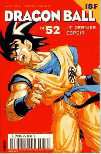 DRAGON BALL (1ÈRE SÉRIE DE 1993 À 1999) - Dernier espoir (Le)  - Tome 52 (a) - Moyen format