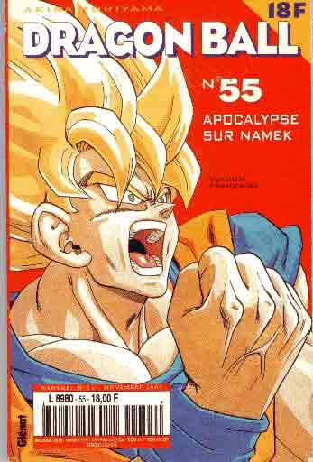 Dragon Ball (1ère série de 1993 à 1999) Apocalypse sur Namek  - Tome 55 (a)