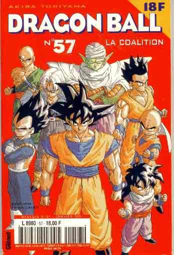 DRAGON BALL (1ÈRE SÉRIE DE 1993 À 1999) - Coalition (La)  - Tome 57 (a) - Moyen format