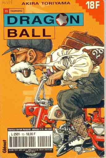 dragon ball (1ère série de 1993 à 1999) taopaïpaï  - tome 15 (a)