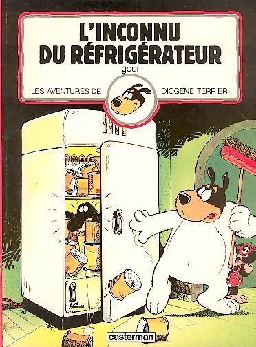 DIOGÈNE TERRIER (LES AVENTURES DE) - L'inconnu du réfrigérateur  - Tome 3 - Grand format