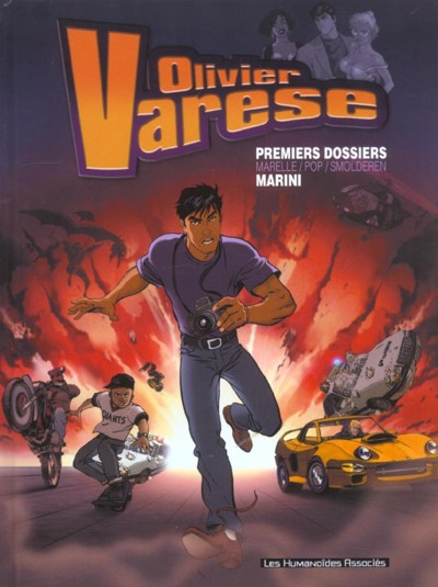 DOSSIERS D'OLIVIER VARSE (LES) - Premiers dossiers (INT) - Big format