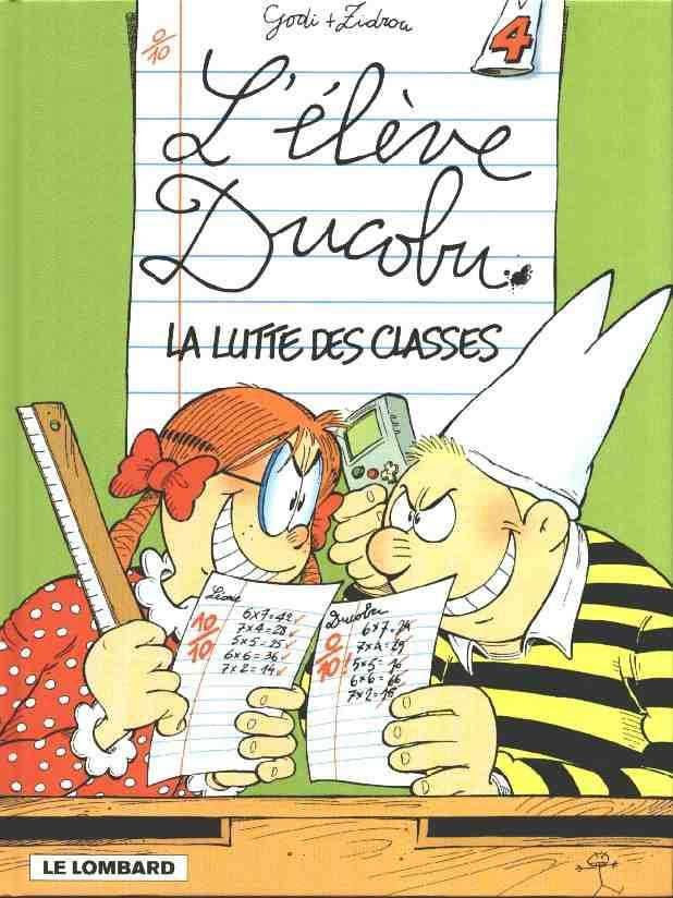 ELÈVE DUCOBU (L') - La lutte des classes  - Tome 4 - Grand format