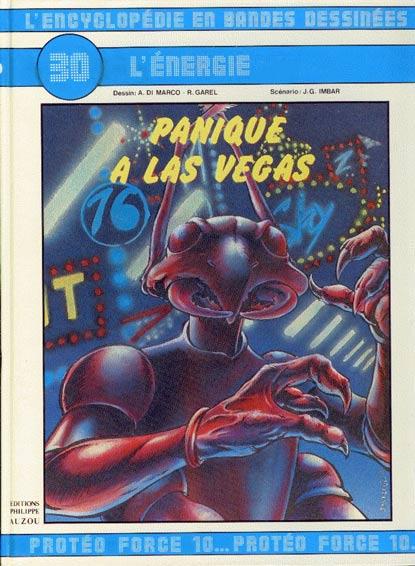 ENCYCLOPÉDIE EN BANDES DESSINÉES (L') - L'énergie : Panique à Las Vegas  - Tome 30 - Grand format